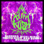 Farruko, Nicki Minaj & Travis Scott - Krippy Kush (Travis Scott Remix) [feat. Bad Bunny & Rvssian] - Single Cover