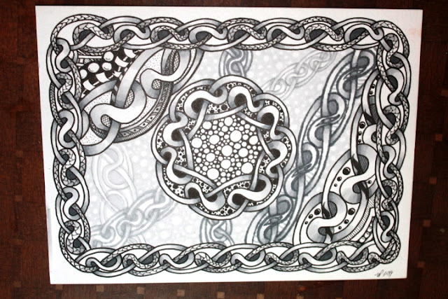 Skye Zentangle Shaded
