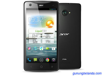 Cara Flashing Acer Z130/Acer Liquid Z3 Single dan Dual Sim