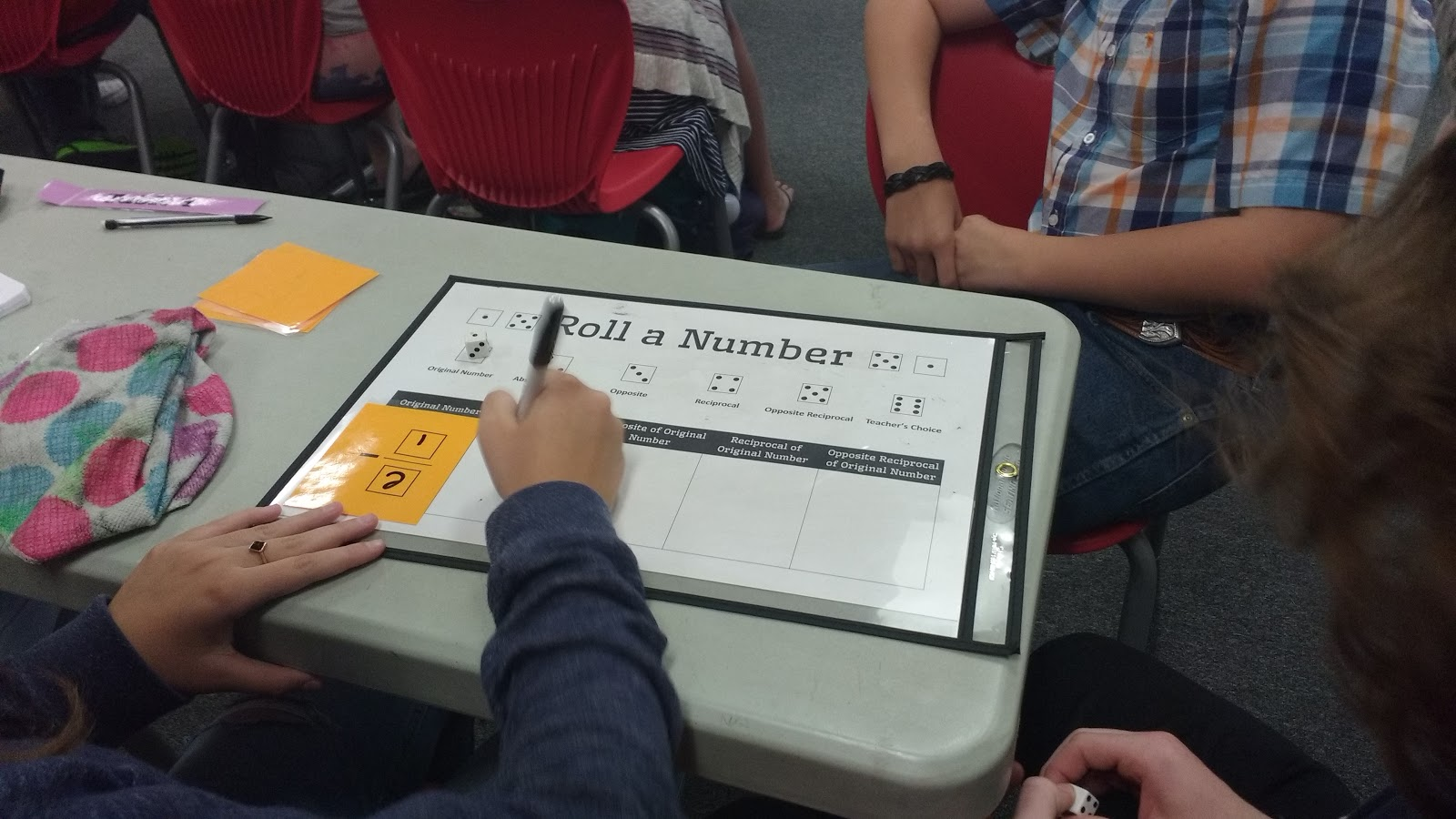 Math Love Roll A Number Dice Activity For Practicing