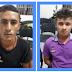 Elementos são presos pelo GTE com apoio de Agentes Penitenciários Jogando Drogas no presídio Padrão de Cajazeiras usando Baladeira