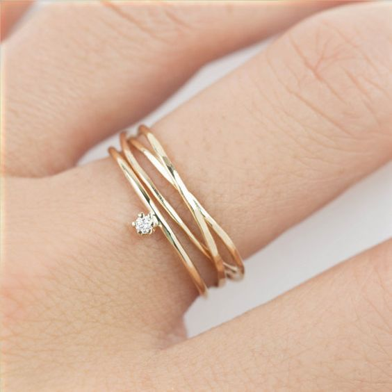 7 Most Beautiful Simple And Delicate Rings\