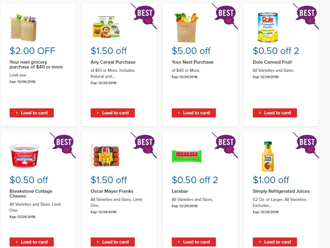 Go Couponing Now: NEW Stop & Shop Load to Card E Coupon Items