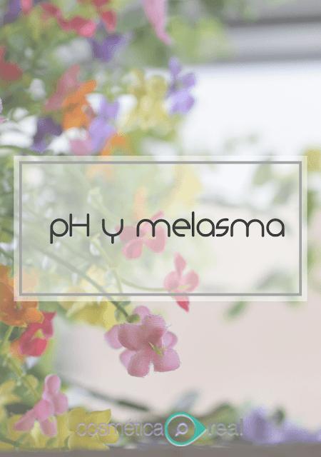 pH y melasma