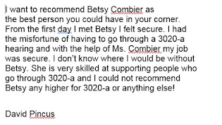 Betsy Combier is the Best!
