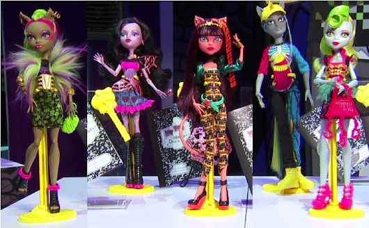 Monster High Freaky Fusion Dolls | News | Release Date | Updates |