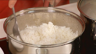 cook rice nasi dagang malaysia