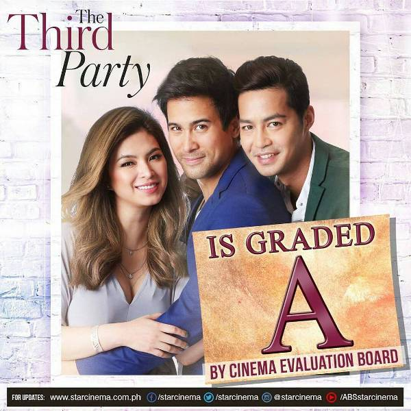 The Third Party gets an A rating from Cinema Evaluation Board
