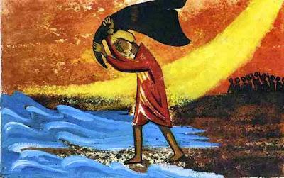Resultado de imagen de profeta eliseo y el manto