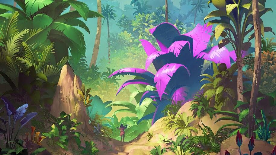 Fantasy, Art, Forest, 4K, #4.1042