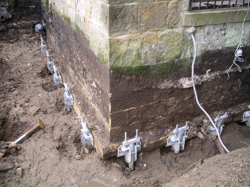 Total Underpinning How Underpinning Is Solution Of Damaged Foundation - Under-pinning-foundations