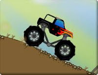 Take this monster truck out for a spin in the rugged mountains of Yuma Arizona! #CarGames
