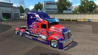 لعبة شاحنات Heavy Truck Simulator نقود لاتنتهي كاملة للاندرويد (بدون ملف obb)