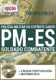 Apostila PM-ES 2018 - Polícia Militar do Espírito Santo