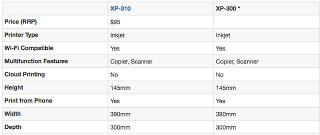 Epson XP-300