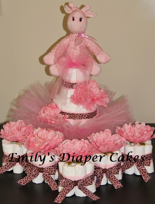 Make A Baby Diaper Shower Cake
