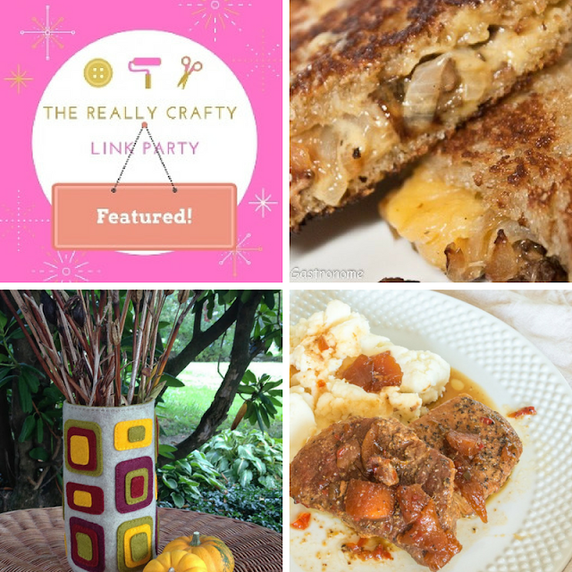The Really Crafty Link Party #86 featured posts
