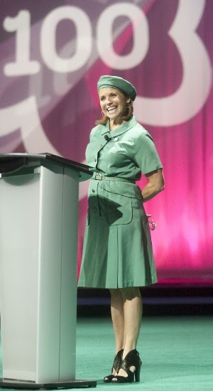 Katie Couric Celebrates Girl Scouting Girl Scout Blog
