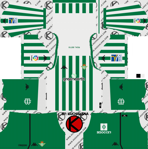 Real Betis 2018/19 Kit - Dream League Soccer Kits
