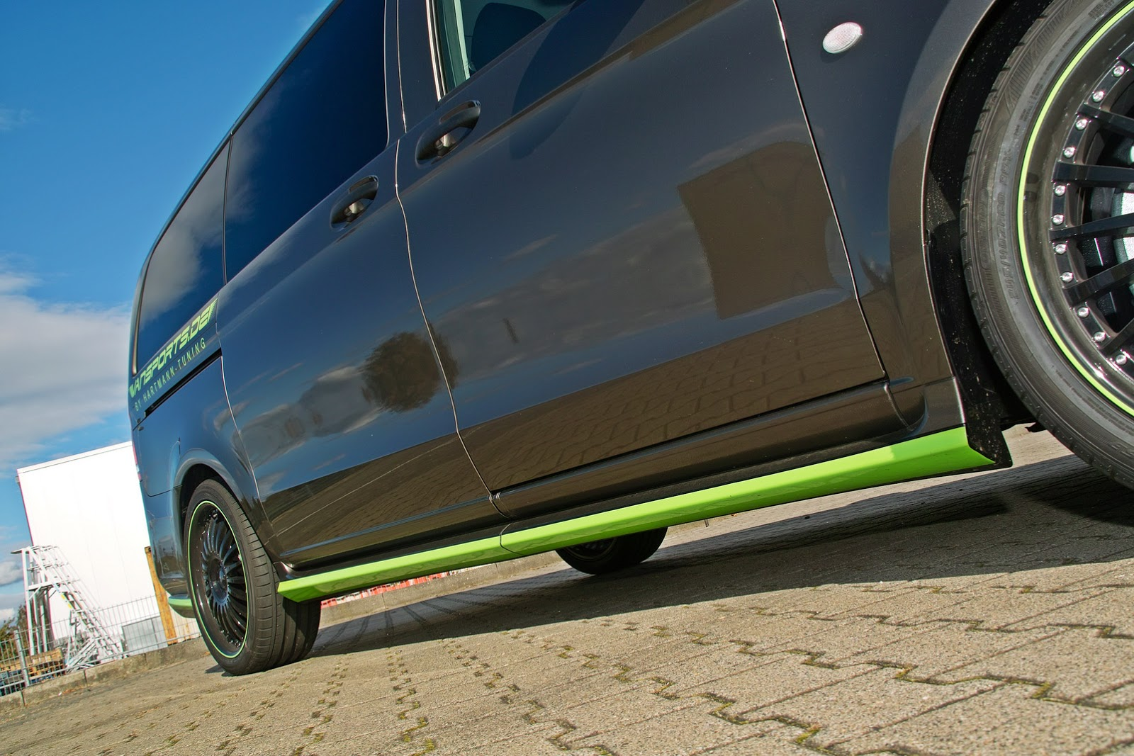 Hartmann S First Tune Of New Mercedes V Class Or Metris
