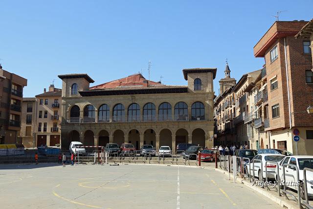 Balcón de toros de la plaza del Coso, Viana