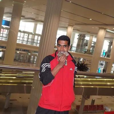 استبعاد روسيا من المشاركة ببارأوليمبياد ريو أعطت الفرصة للعداء المصرى محمد عبد اللطيف للمشاركه