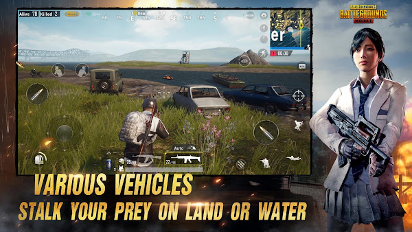 Cara main pubg Android