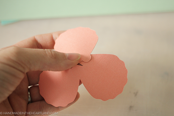 how to make a paper cut 3d peony flower