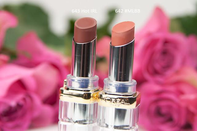 L'Oreal - Color Riche Shine Lippenstifte - Review
