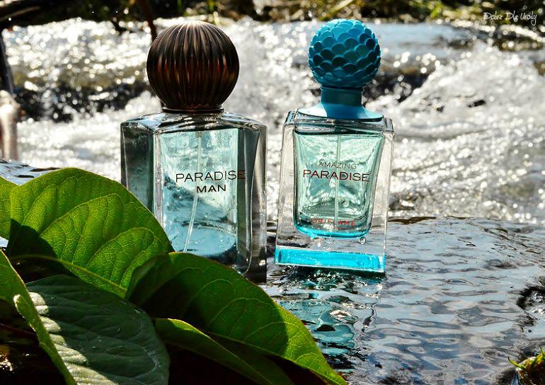 Woda toaletowa Paradise Man i Woda perfumowana Amazing Paradise Oriflame recenzja