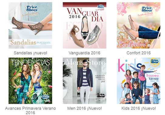 Price shoes catalogos 2016  completos | calzados , zapatillas
