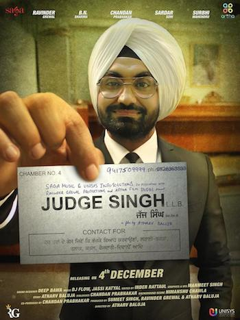 Download Judge Singh LLB 2015 Punjabi DVDRip 700mb ESubs
