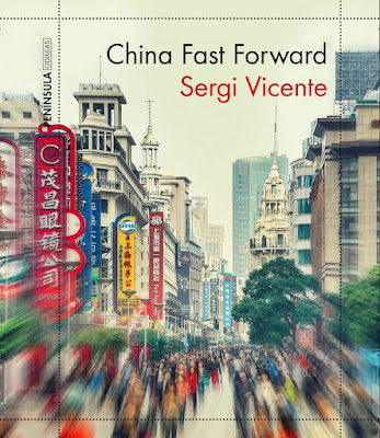 Portada del libro China Fast Forward de Sergi Vicente