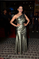Rakul Preet Singh in Shining Glittering Golden Half Shoulder Gown at 64th Jio Filmfare Awards South ~  Exclusive 020.JPG