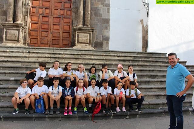 El alumnado de Santa Cruz de La Palma conocerá el patrimonio histórico de la ciudad con una gymkana