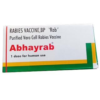 vắc xin phòng dại Abhayrab