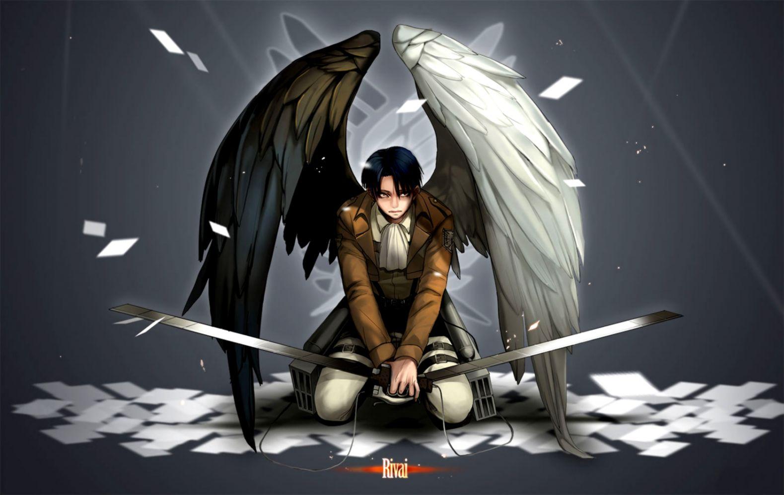 Anime Angel Wings Wallpaper 2015 Hd Mobile Wallpapers