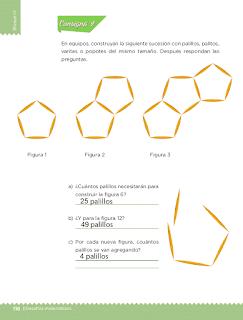 Respuestas Apoyo Primaria Desafíos matemáticos 3ro Grado Bloque IV Lección 53 De cuánto en cuánto