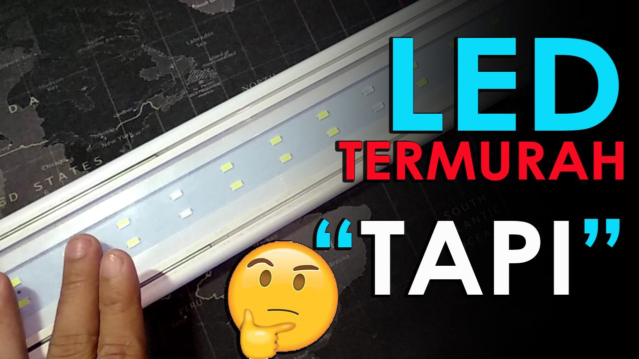 """Review Lampu LED YAMANO P600: Paling Terang dan Termurah di Pasaran - Ada """"Tapi"""" nya"""