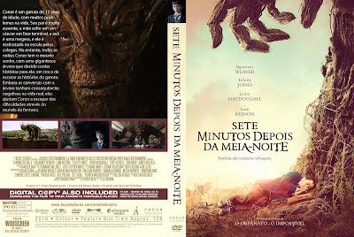Filme Sete Minutos Depois da Meia-Noite (A Monster Calls) DVD Capa
