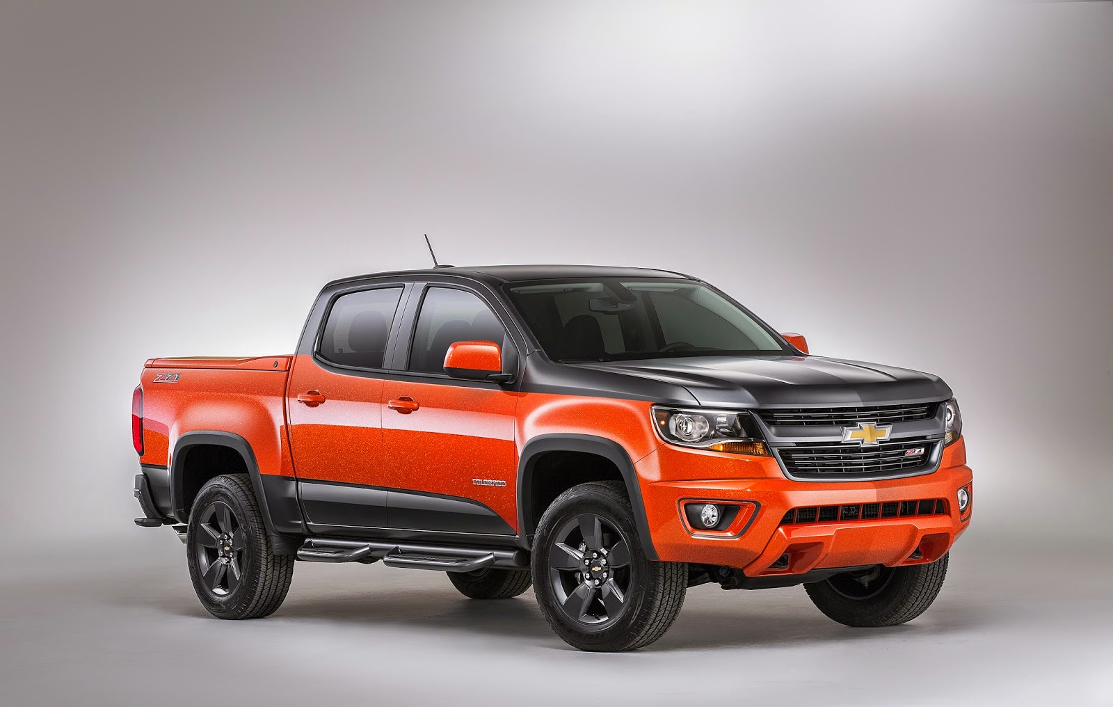 rack it truck racks new 2015 chevy colorado designed for active lifestyles. Black Bedroom Furniture Sets. Home Design Ideas