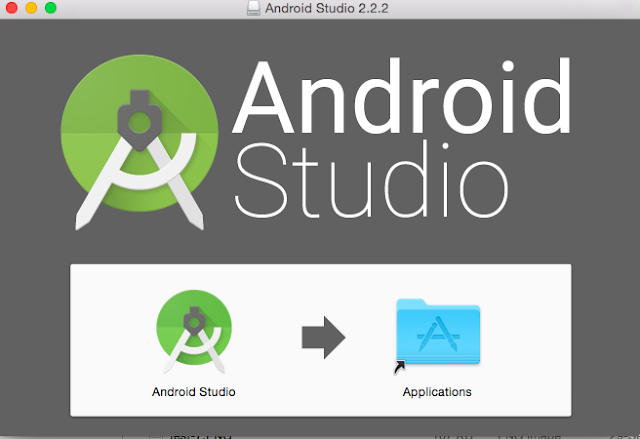 Drag Android studio to applications