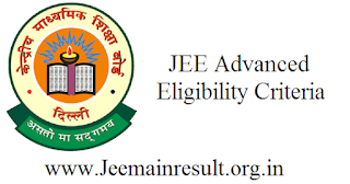 JEE Advanced Eligibility Criteria
