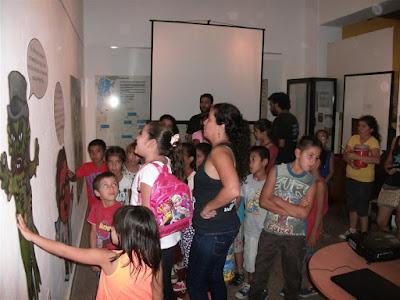 Ichoalay,Visitas, Escuelas, 20016