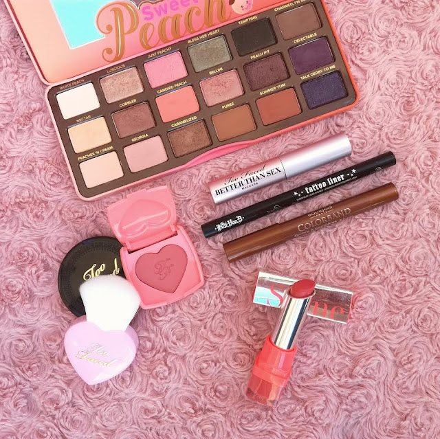 Make up sweet peach too faced