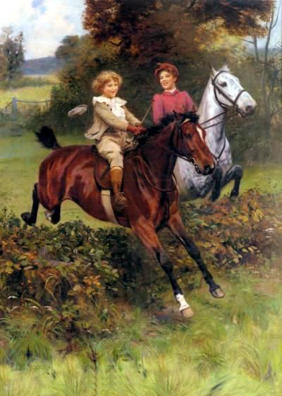 Bumble Button Arthur John Elsley Paintings English