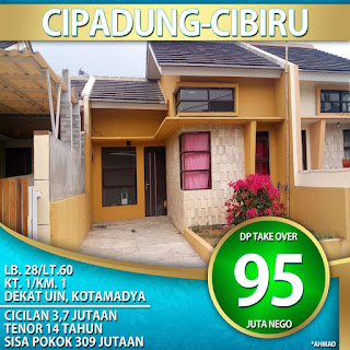 Rumah over kredit cibiru Bandung