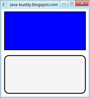 JavaFX 2.0: Rectangle and RectangleBuilder