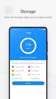 File Manager by Xiaomi: release file storage space vV1-181022 Ad-Free APK is Here !