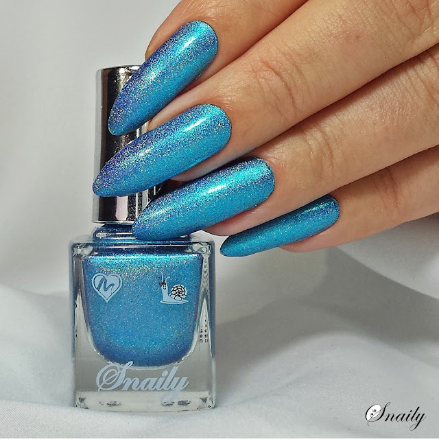 Snaily 9 - Niebiesko - fioletowy peacock